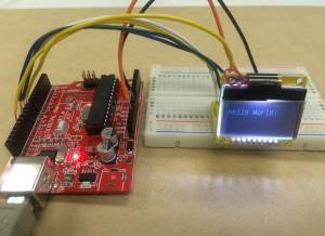 Arduino互換機でHelloWorld