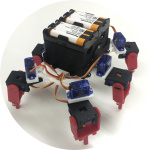 【3Dプリンタで6脚ロボットを作ろう】 12.16(土)&24(日) 開催